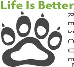 Life is Better Rescue Logo