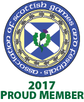 Association of Scottish Games and Festivals - 2017 Proud Member