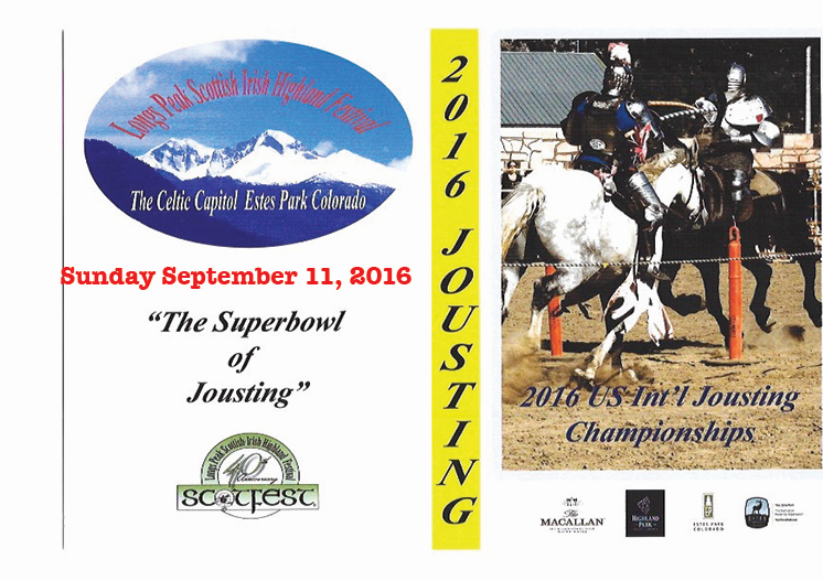 SEPTEMBER 11, 2016 SUNDAY JOUSTING FINAL