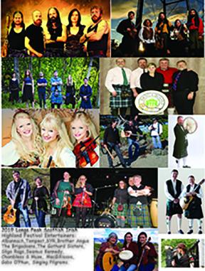 Celtic Music, Highland Dance   Estes Park, CO